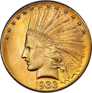 $10 Indian Head Eagles