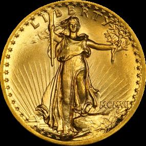 Saint-Gaudens $20