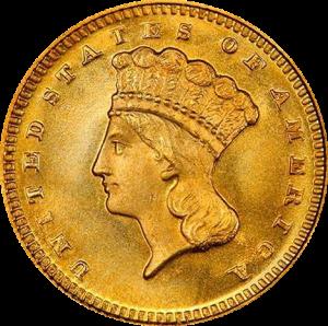 $1 Gold Dollar