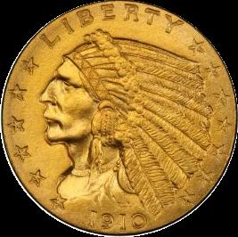 $2.5 Indian Head Quarter Eagles