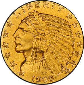 $5 Indian Head Half Eagles